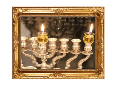 Menorah For You During The Eight Days of Hanukkah